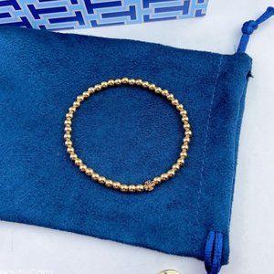 Tory Burch All-match Golden Ball Bracelet